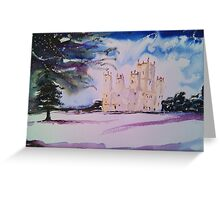 'Downton Abbey, Winter' Greeting Card