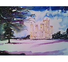 'Downton Abbey, Winter' Photographic Print