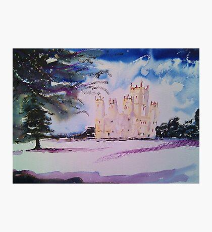 'Downton Abbey, Winter' Photographic Print