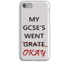 Wut GCSES ? iPhone Case/Skin