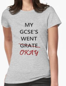 Wut GCSES ? Womens Fitted T-Shirt
