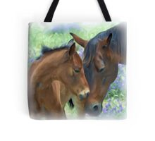Mother and Daughter in Corel Painter Tote Bag