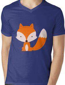 The Fox Mens V-Neck T-Shirt