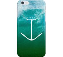 Blue, green ocean iPhone Case/Skin