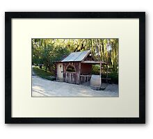 the saloon bar Framed Print