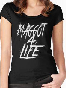 Slipknot Maggot For Life Women's Fitted Scoop T-Shirt