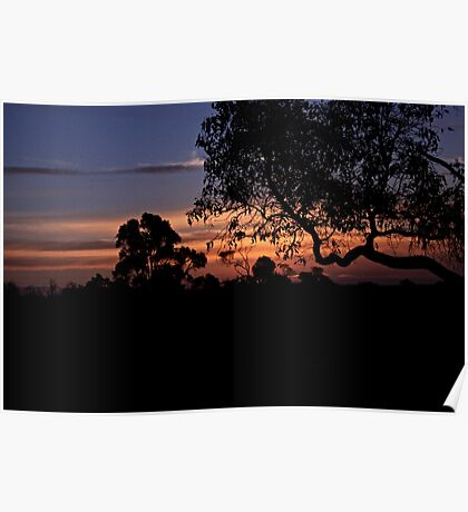Nannup Sunset Poster