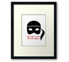 Have you considered piracy? Framed Print