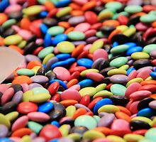 Colourful M&Ms by Beh Meng Khiang
