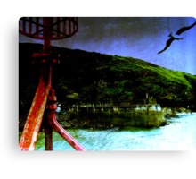 port isaac... Canvas Print