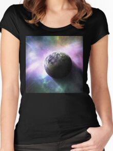 Stellar Fireworks Women's Fitted Scoop T-Shirt