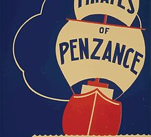 WPA United States Government Work Project Administration Poster 0722 Pirates of Penzance Gilbert Sullivan Cincinnati Federal Theatre by wetdryvac