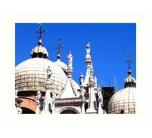 Italian Church Art Print