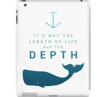 Depth of life iPad Case/Skin