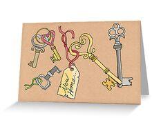 Key To My....... Greeting Card