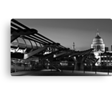 On the way to the Cathedral Canvas Print