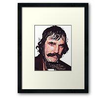 DANIEL DAY-LEWIS BILL THE BUTCHER GANGS OF NEW YORK GRAPHIC ART T SHIRT Framed Print