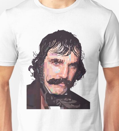 DANIEL DAY-LEWIS BILL THE BUTCHER GANGS OF NEW YORK GRAPHIC ART T SHIRT Unisex T-Shirt