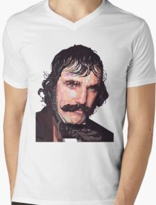 DANIEL DAY-LEWIS BILL THE BUTCHER GANGS OF NEW YORK GRAPHIC ART T SHIRT Mens V-Neck T-Shirt
