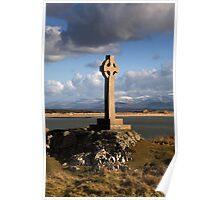 Celtic Cross (Llanddwyn Island ) Poster
