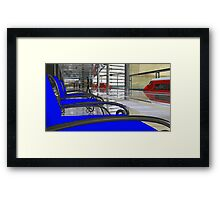 Metro West Station Framed Print