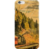 Down the Mountain iPhone Case/Skin