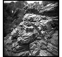 Stripey rocks Photographic Print