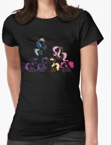 Mane 6 Womens Fitted T-Shirt