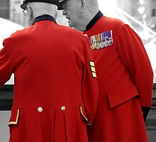 Chelsea Pensioners in London by chris-csfotobiz