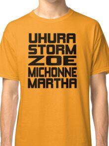 Black Women of Sci Fi Classic T-Shirt