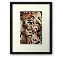 Defamation Framed Print