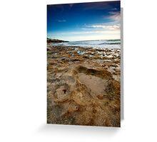 Craters - North Beach, Perth, Western Australia Greeting Card