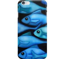 Blue Fish 1 iPhone Case/Skin