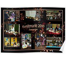 Kunstmarkt Collage 1 - Arts and Crafts Market 1 Poster