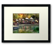 The Playground at Finlay Park Framed Print