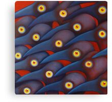 Blue Birds 1 Canvas Print