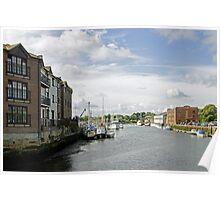 Newport Harbour, IOW Poster