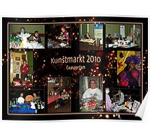 Kunstmarkt Collage 2 - Arts and Crafts Market 2 Poster