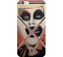 Portrait of Needles iPhone Case/Skin