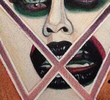 Portrait of Needles Sticker