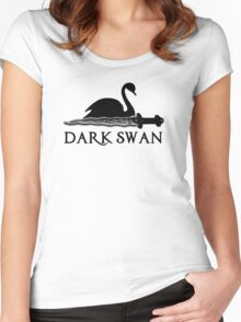 Dark Swan Women's Fitted Scoop T-Shirt