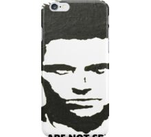 Fight Club You are not Special iPhone Case/Skin