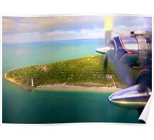 Over Cape Florida Poster