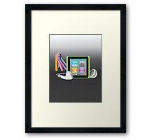 iPod Nano Framed Print