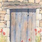 Old Barn Door, Chez Bourret, France by ian osborne