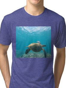 Honu - Turtle Summer  Tri-blend T-Shirt