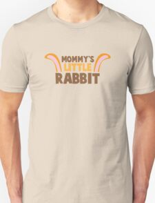 Mommy's little rabbit with cute bunny ears T-Shirt