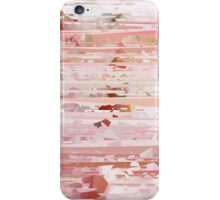Pink Meshed Up Pattern iPhone Case/Skin