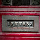 Letter box by Roxy J