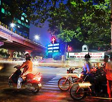 dusk ... where jesus saves in chennai india by nialloc
